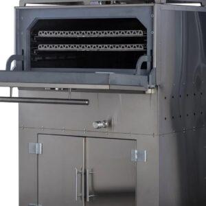 Фото 0 - Угольный гриль Master-Smoke 45, до 500 С, время розжига 30мин, 190кг, расход угля 15кг.