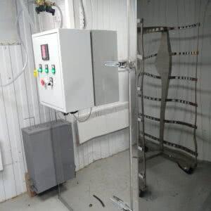 Фото 0 - Коптильная термо-камера Master-Smoke 200 (новая) нерж., п\авт., дымогенератор сигаретного типа.