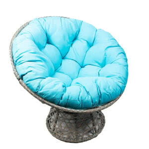 Фото 0 - Садовое кресло E4025 (бирюзовый).