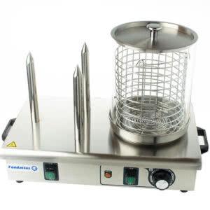 Фото 3 - Аппарат для приготовления хот-догов HHD-03 паровой гриль Foodatlas.