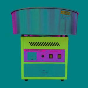 Фото 6 - Аппарат для сахарной ваты HEC-01 Foodatlas.